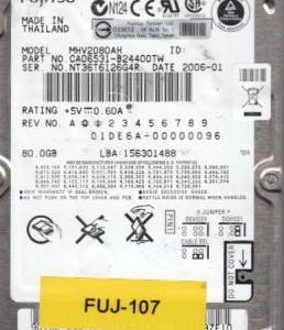 Fujitsu MHV2080AH 80GB