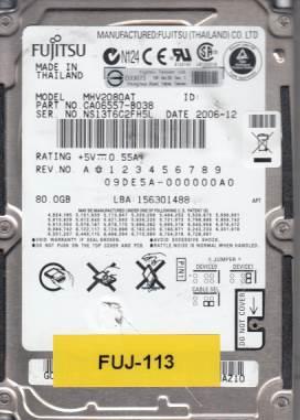 Fujitsu MHV2080AT 80GB