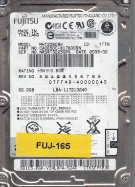Fujitsu MHT2060BH 60GB