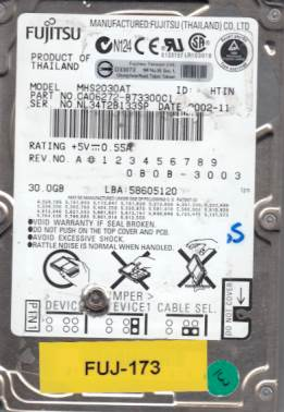 Fujitsu MHS2030AT 30GB