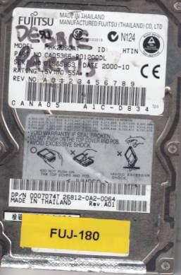 Fujitsu MHK2060AT 6GB