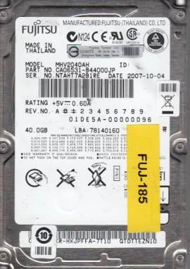 Fujitsu MHV2040AH 40GB