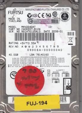 Fujitsu MHV2040AT 40GB