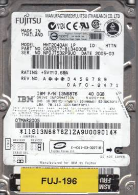 Fujitsu MHT2040AH 40GB