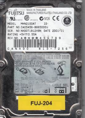 Fujitsu MHN2100AT 10GB