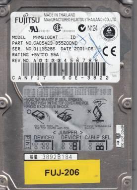Fujitsu MHM2100AT 10GB