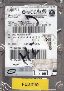 Fujitsu MHR2020AT 20GB
