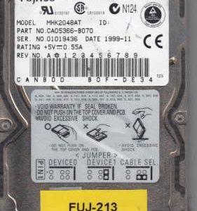 Fujitsu MHK2048AT 1GB