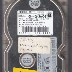 Fujitsu MPE3102AT 10.2GB