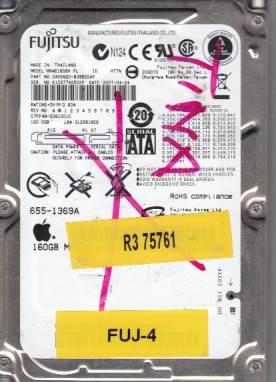 Fujitsu MHW2160BH 160GB