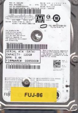 Fujitsu MHY2120BH 120GB