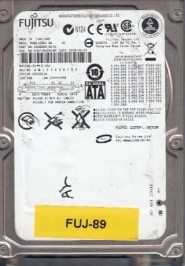 Fujitsu MHW2120BJ 120GB