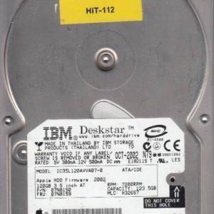 Hitachi IC35L120AVVA07-0 123.5GB