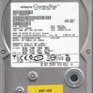 Hitachi HCS725025VLAT80 250GB