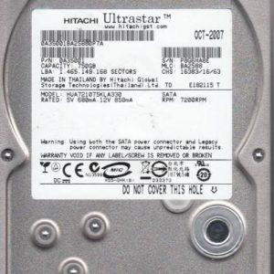 Hitachi HUA721075KLA330 750GB