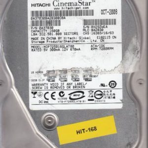 Hitachi HCP725016GLAT80 160GB
