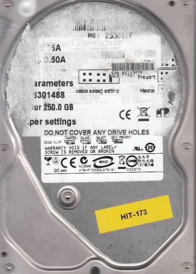 Hitachi HCP7250225GLAT80 250GB