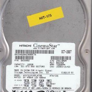 Hitachi HCS721616PLAT80 160GB