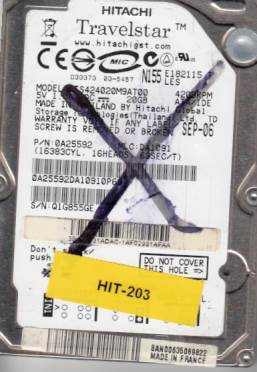 Hitachi HTS424020M9AT00 20GB