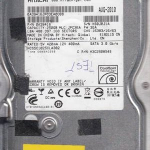 Hitachi HCS5C1025CLA382 250GB