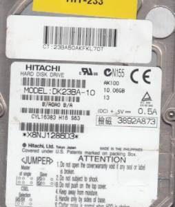 Hitachi DK23BA-10 10GB