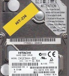 Hitachi DK23AA-60 6GB