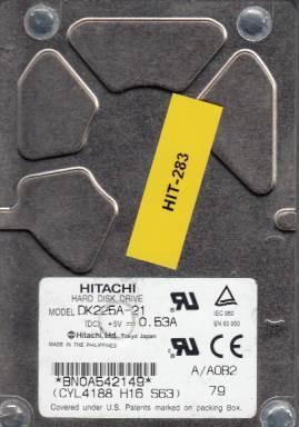 Hitachi DK225A-21 2.1GB