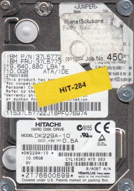 Hitachi DK299A-10 10GB
