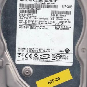 Hitachi HCP725050GLA380 500GB