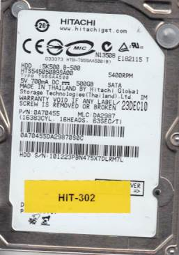 Hitachi HTS545050B9SA00 500GB