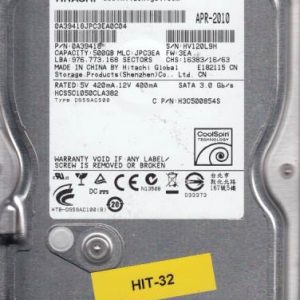 Hitachi HCS5C1050CLA382 500GB