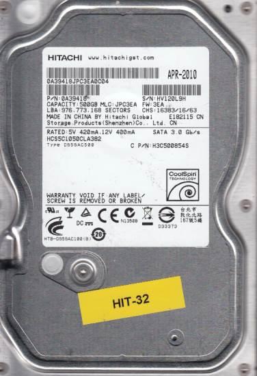 Hitachi HCS5C1050CLA382 500GB