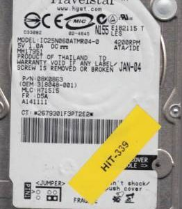 Hitachi IC25N060ATMR04-0 250GB