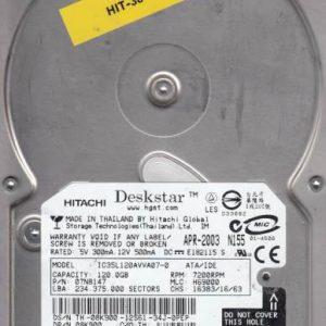 Hitachi IC35L120AVVA07-0 120GB