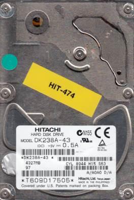 Hitachi DK238A-43 4GB
