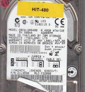Hitachi DBCA-206480 6.49GB