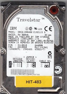 Hitachi DBCA-206480 6.4GB