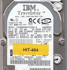 Hitachi IC25N030ATCS04-0 30GB