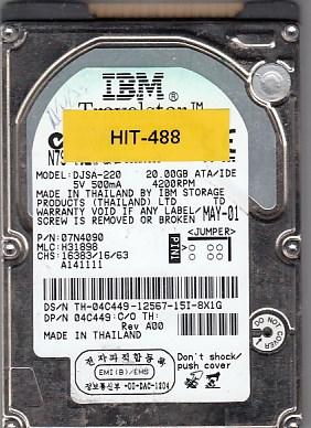 Hitachi DJSA-220 20GB