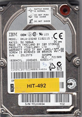 Hitachi DKLA-23240 3.25GB