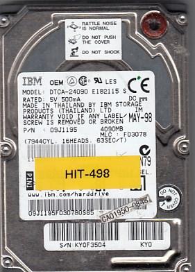 Hitachi DTCA-24090 4GB