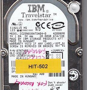 Hitachi IC25N020ATDA04-0 20GB