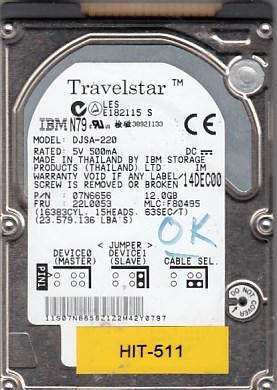 Hitachi DJSA-220 12GB