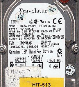 Hitachi DADA-25120 5.12GB