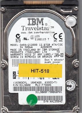 Hitachi DARA-212000 12.07GB