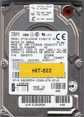 Hitachi DTCA-23240 3.2GB