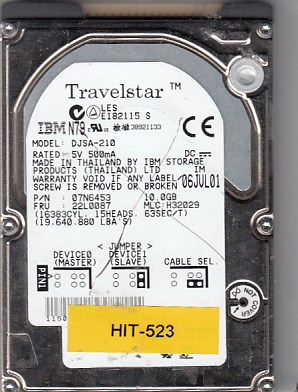 Hitachi DJSA-210 10GB