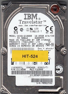 Hitachi DCXA-210000 10GB