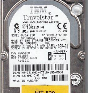 Hitachi DJSA-210 10GB