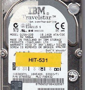 Hitachi DJSA-220 18.14GB
